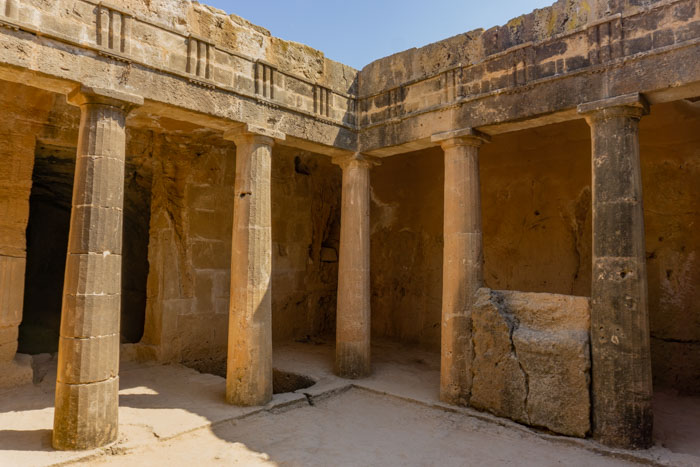 The Tombs of the Kings is one of the best things to do in Paphos