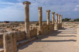 Ruins at Kato Paphos Archaeological Park