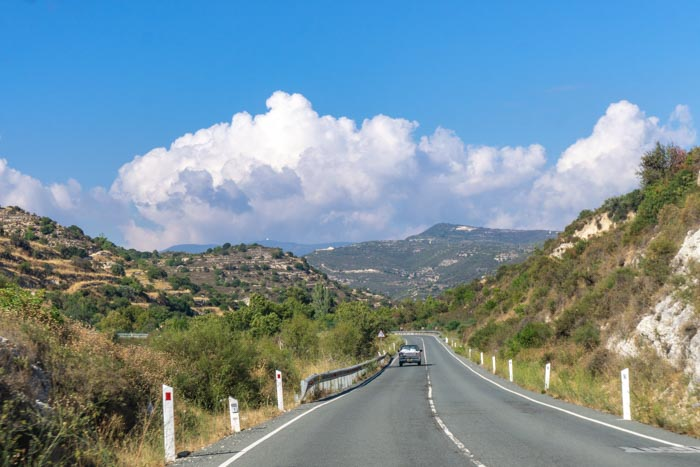 driving in cyprus