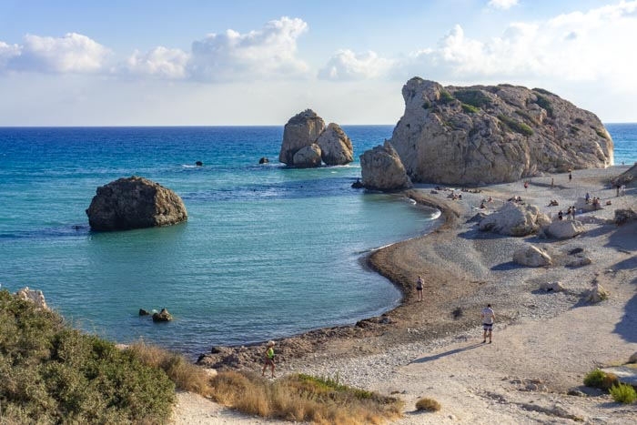 Aphrodite's Rock is a must visit on any Cyprus itinerary