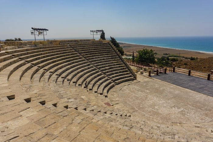 Kourion Archaeological Site is one of the best stops from Paphos to Larnaca