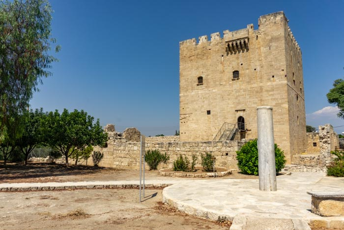 Kolossi Castle is the final stop from Paphos to Limassol