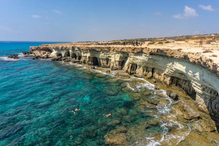 Sea Caves in Ayia Napa