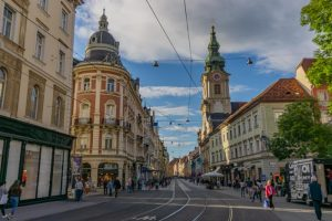 The beautiful city of Graz, Austria