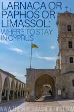 Larnaca or Paphos or Limassol: Where to Stay in Cyprus