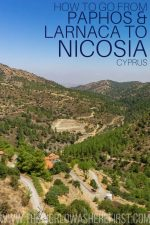 How to Go from Paphos & Larnaca to Nicosia: Bus or Scenic Drive