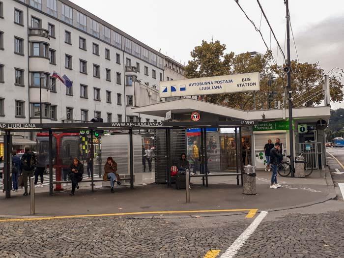 Ljubljana Bus Station