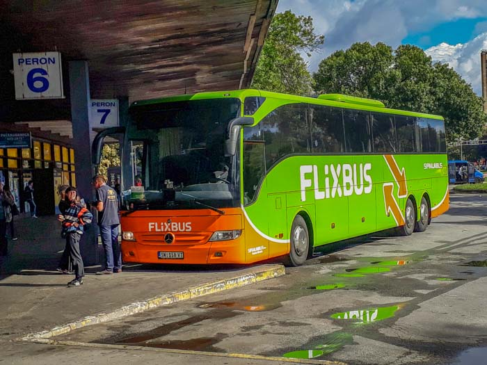Taking FlixBus from Zagreb to Belgrade