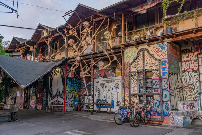 Metelkova City is a must visit on your Ljubljana itinerary if you want to experience the alternative side of the city