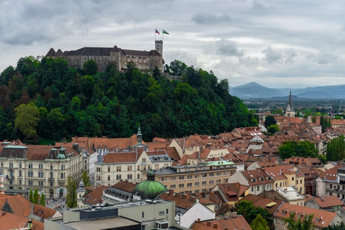 Ljubljana from above