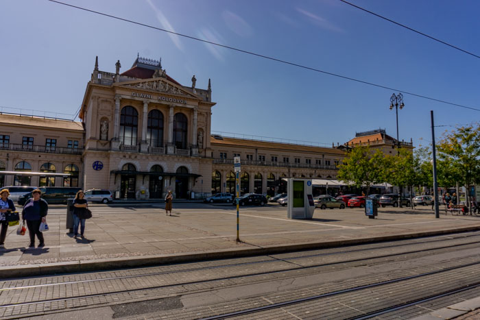 There are only a few trains from Zagreb to Ljubljana that depart at the train station