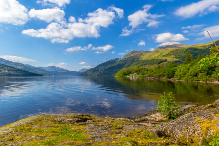 Loch Lomond is the perfect day trip from Glasgow
