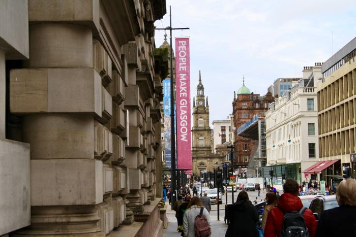 Glasgow has invested a lot to make more visitors choose Glasgow over Edinburgh