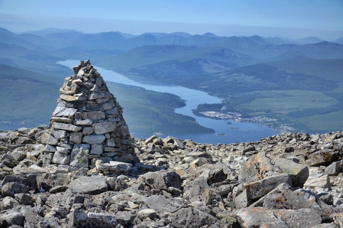 Climbing Ben Nevis is a popular thing to do in Fort William