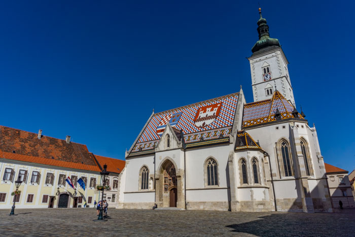 St Mark's Church is a must visit during your one day in Zagreb itinerary