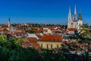 Beautiful view of Zagreb