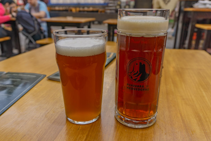 Zagreb has a great craft beer scene!