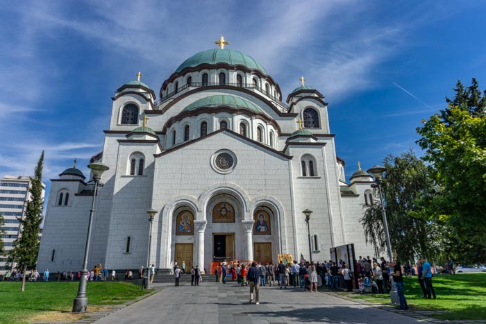 St Sava Church is a great place on the second day of your Belgrade itinerary