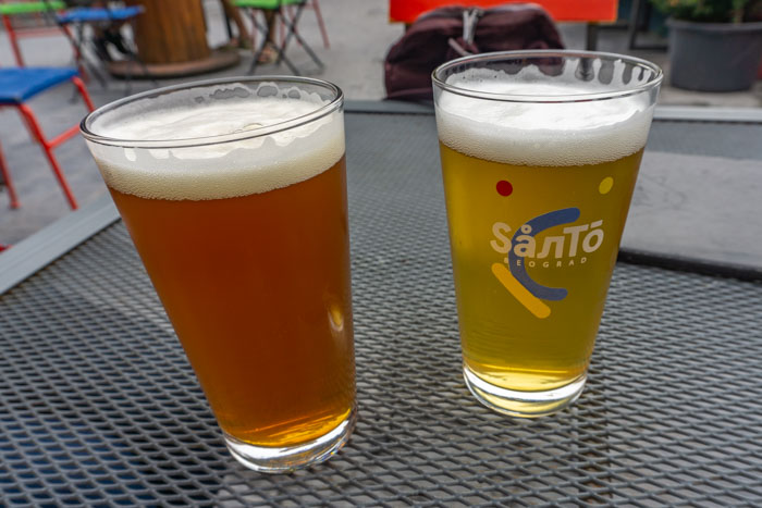 Belgrade craft beers