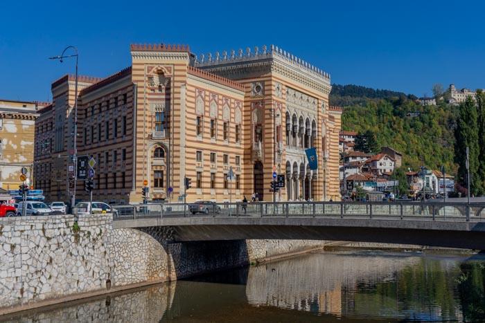 City Hall in Sarajevo