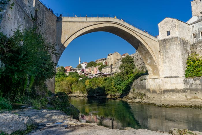 If you're wondering what to do in Mostar, start at the Old Bridge!