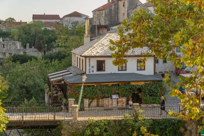 Restaurant Hindin Han is a great place to eat in Mostar