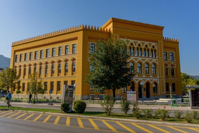 The Mostar Gymnasium