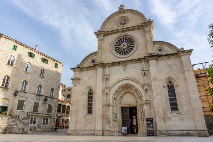Sibnek Cathedral is a great addition to your 2 days in split itinerary