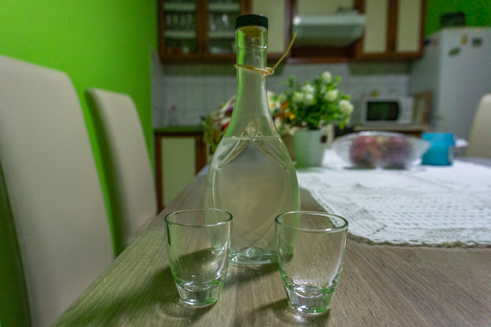 homemade rakija