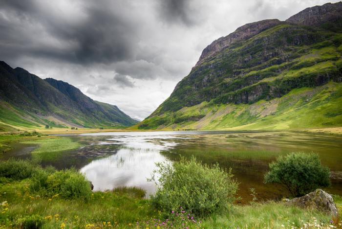 Glencoe is a great option if you have more than one day in Loch Lomond