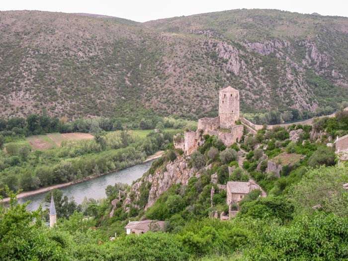 Počitelj is a great place to stop on the way from Split to Mostar