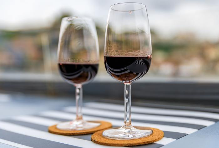 Drinking port is a must during your weekend in Porto