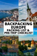Backpacking Europe Packing List & Pre-Trip Checklist