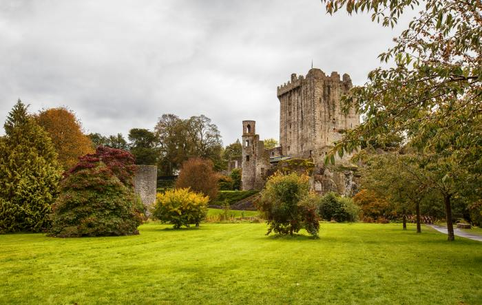 Blarney Castle is the most popular stop on a Dublin to Cork road trip