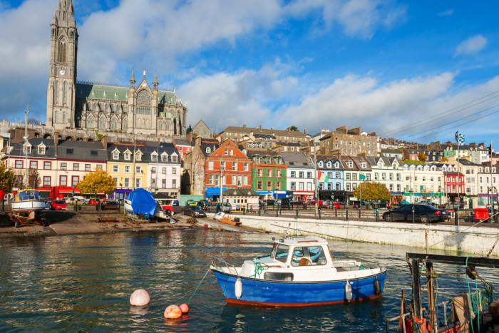 Cobh is the last stop on the Dublin to Cork drive