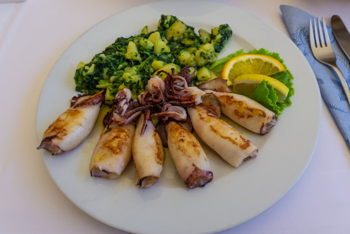 Balkan Cuisine: Grilled Squid