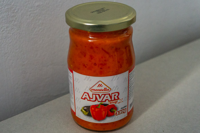 Ajvar is a popular addition to any Balkan food