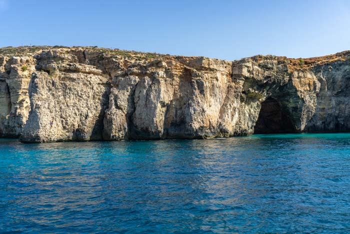 Crysyal Lagoon on Comino in Malta