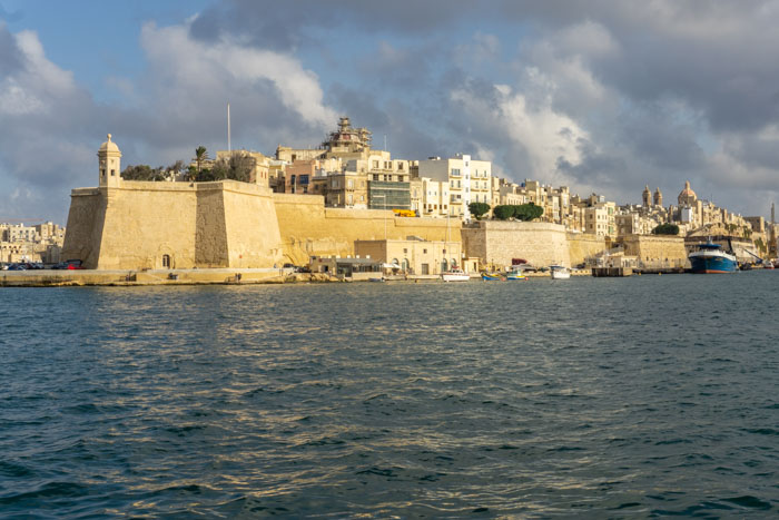 walking the city walls is a must during your one day in valletta itinerary