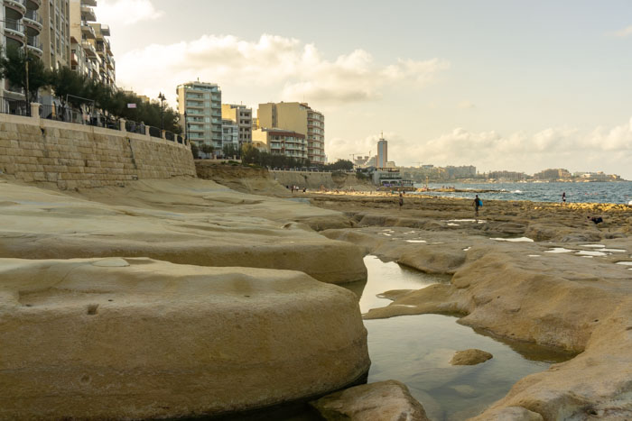Sliema is a popular place to stay in Malta