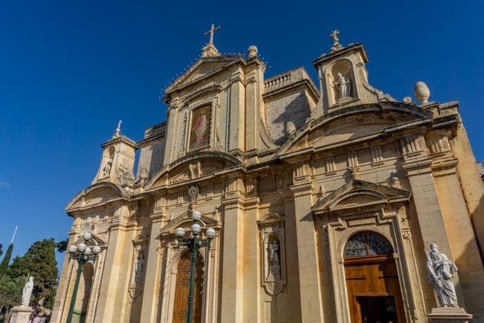 St Paul's Church in Rabat, Malta