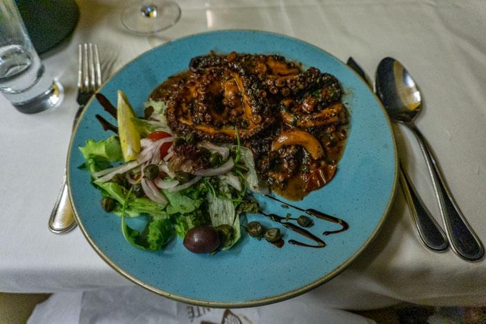 Maltese Food: Octupus