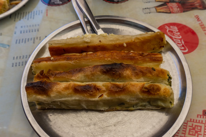 Burek is some of the most famous Balkan cuisine