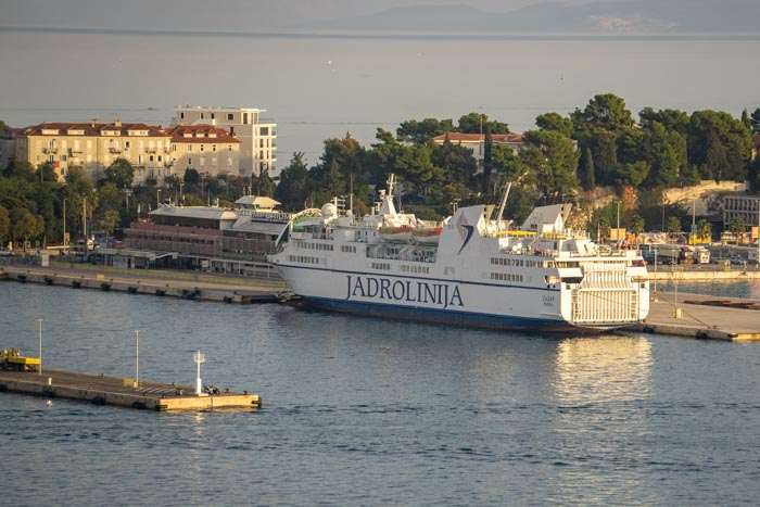 Ferries departing from Split