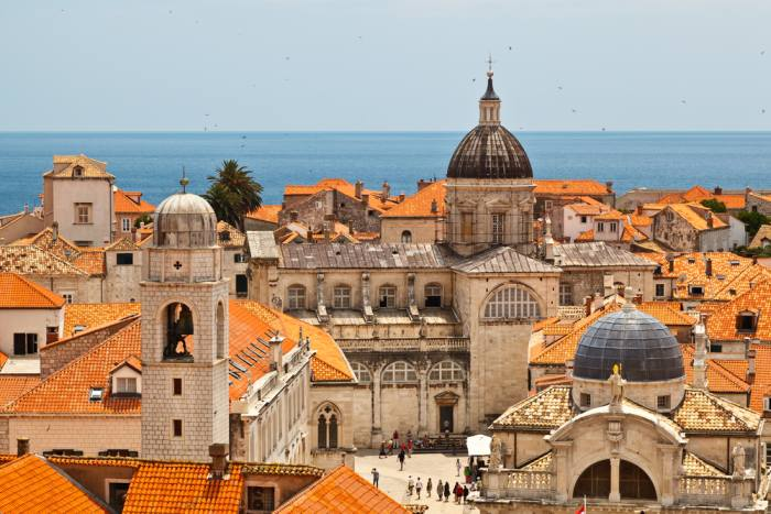 Dubrovnik is a popular stop on a Croatia itinerary