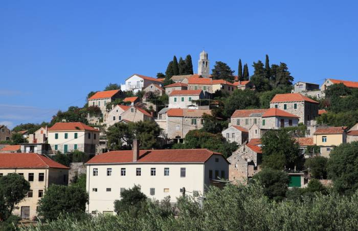 Vrisnik Village on Hvar