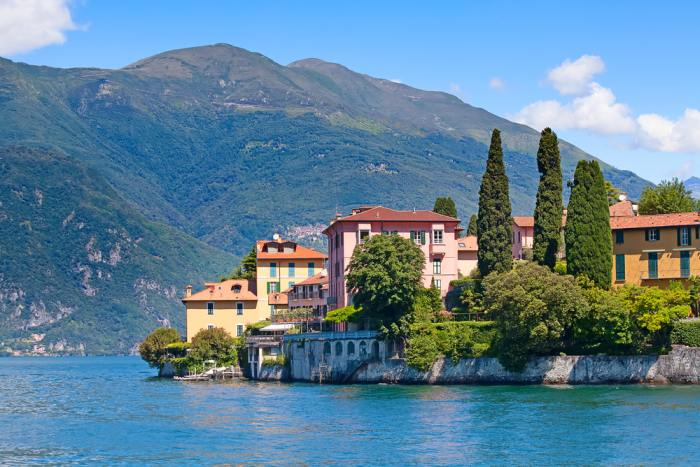 Lake Como might be a factor when choosing Milan or Florence
