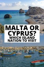 Malta or Cyprus: Which Island Nation to Visit?