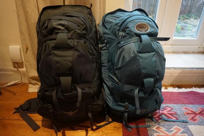 Osprey Farpoint 55 vs 70