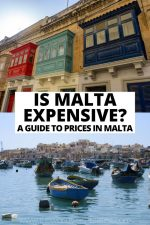Is Malta Expensive? A Guide to Prices in Malta in 2020